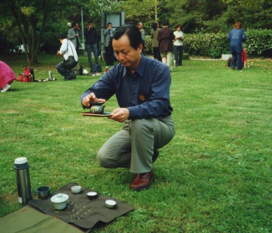 蔡榮章教師 Master Cai Rong zhang ( Tsai Rong Tsang ) Wu-Wo Tea Meeting in Compito 無我茶會